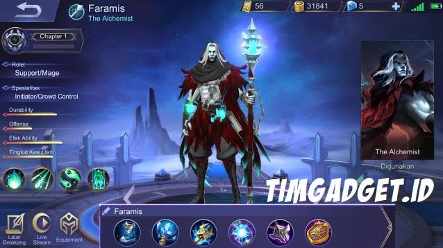 Mau Tahu Build Hero Terbaru Faramis dengan Damage Tersakit