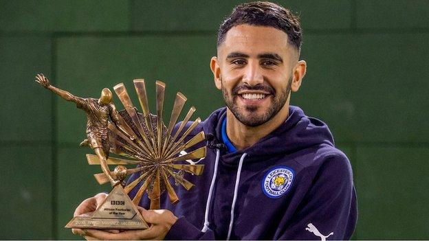Algeria Star Riyad Mahrez Win BBC African Footballer Of The Year 2016