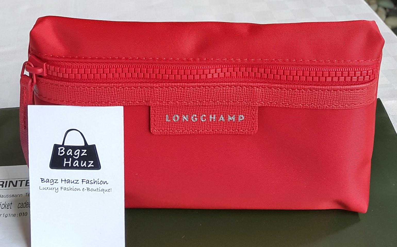 887d9d2e4396 LONGCHAMP Le Pliage Neo Pouch - Color  Poppy ~ For Gene ~