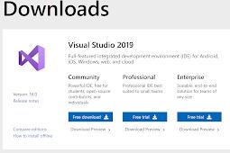 Hướng dẫn tải, cài đặt và sử dụng Visual Studio 2019