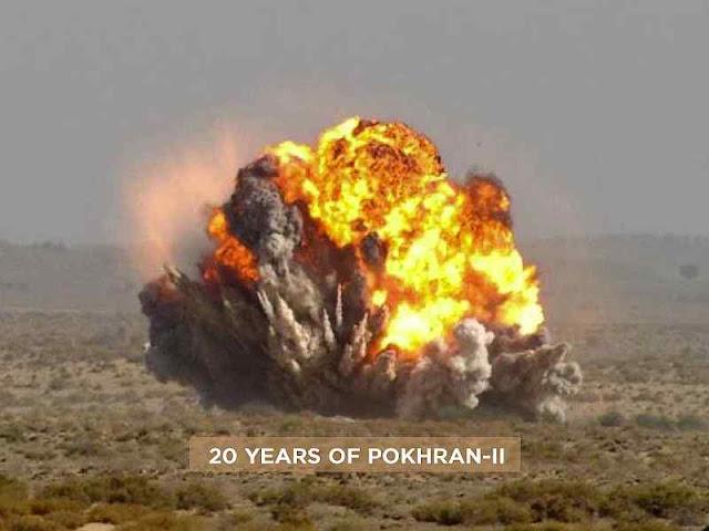 Teste nuclear indiano batizado Pokhran-II há 20 anos