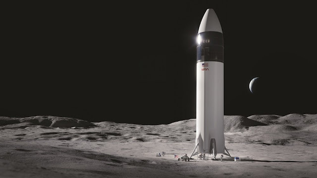 Court filings shed light on Blue Origin vs. SpaceX lunar lander fight, with dark spots