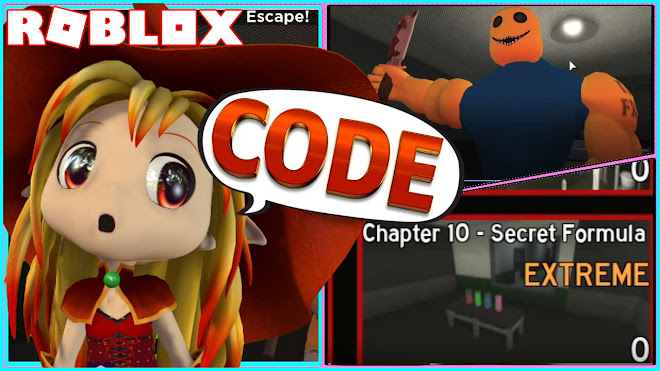 Roblox Bakon! NEW CODE and How to ESCAPE the new Chapter 10 EXTREME map!