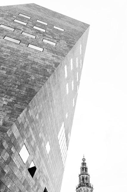 Het Forum en De Olle Grieze (Martinitoren) Groningen