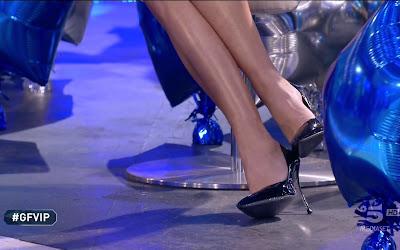Elisabetta Gregoraci tacchi scarpe gfvip 1 febbraio 2021