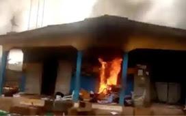 Gunmen Kill Policeman, Set Station Ablaze In Benue
