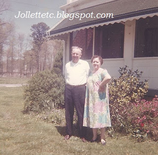 Orvin and Lucille Davis early 1960s https://jollettetc.blogspot.com