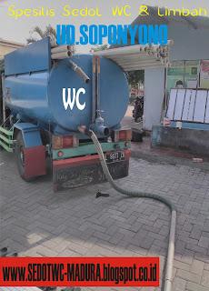 Sedot WC Blega Bangkalan Madura, 081217744287