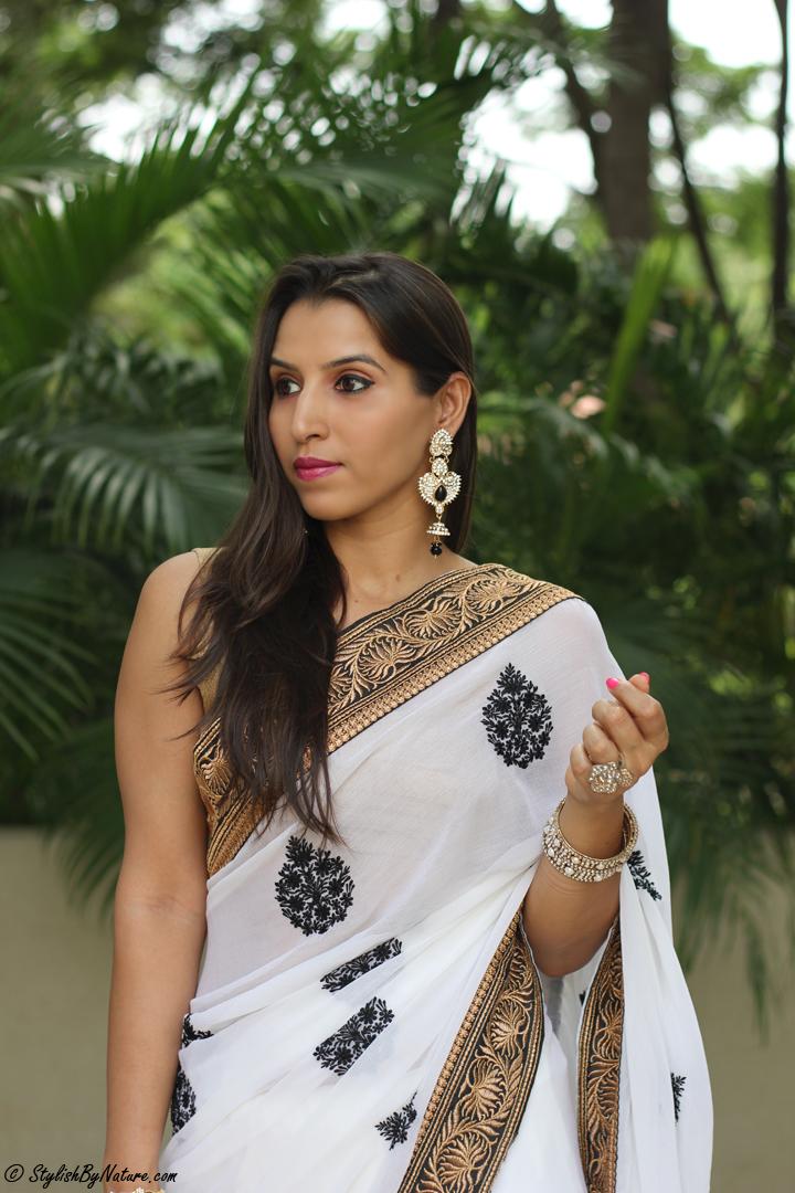 Ethnic Indian Saree For Bride: Fashion Trend - Ethnic Indian Designer Saree