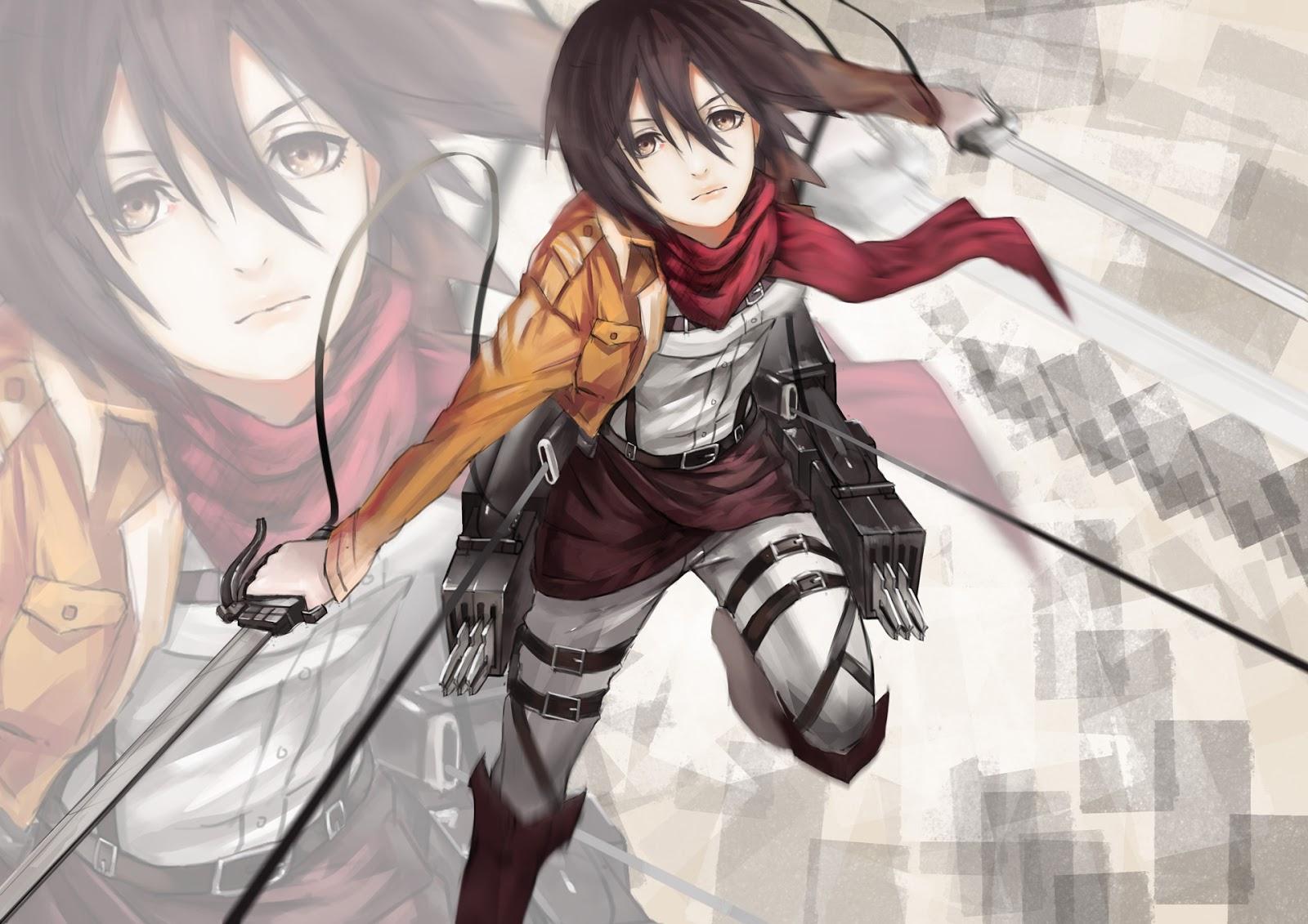 Hd Wallpaper Mikasa Shingeki No Kyojin 0807