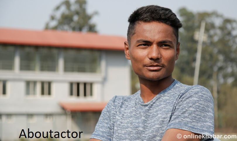 Rohit Poudel Handsome Look