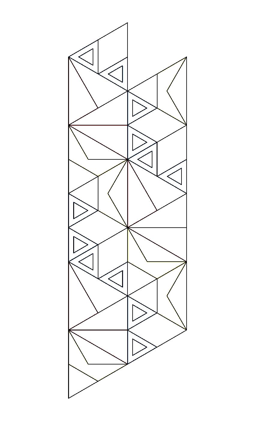 Pin Flexagon Template on Pinterest