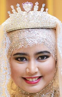 diamond heart tiara queen saleha brunei princess hafizah