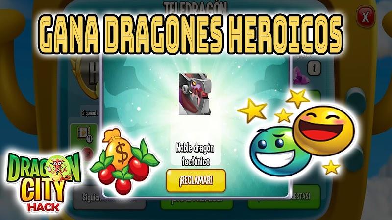 DRAGON CITY : OBTEN DRAGON HEROICOS NOBLE DRAGON TECTONICO