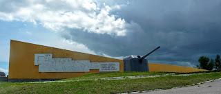 Арабатская стрелка, Херсонская обл. Мемориальный комплекс в Генической Горке