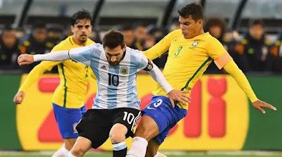 ملخص وتتويج وهدف فوز الارجنتين علي البرازيل (1-0) نهائي كوبا أمريكا