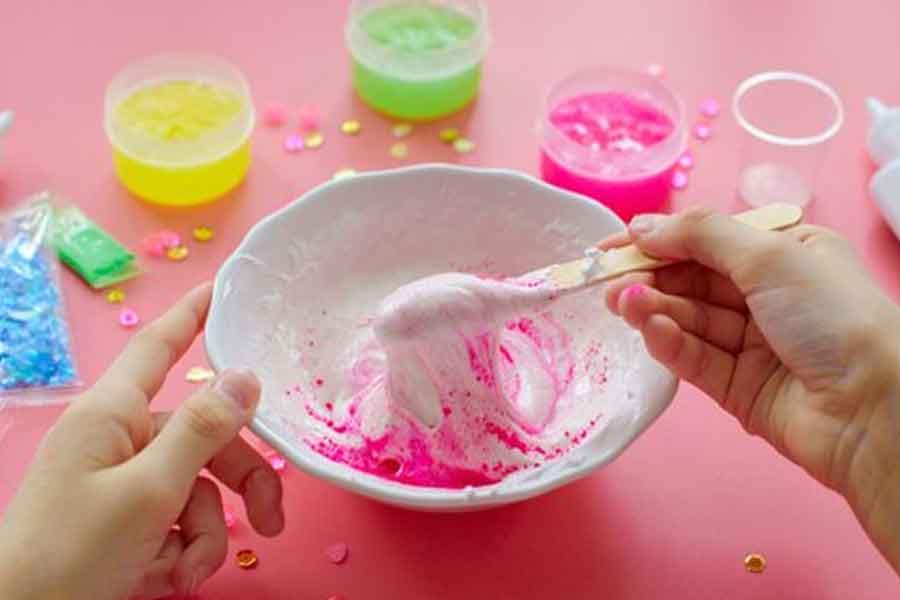 tutorial cara membuat slime dengan mudah dan murah