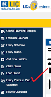 How to download LIC Premium Paid Certificate online for IT Returns