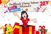 Promo Alfamart Semarak Ulang Tahun Ke-20 Edisi 16 - 31 Oktober 2019