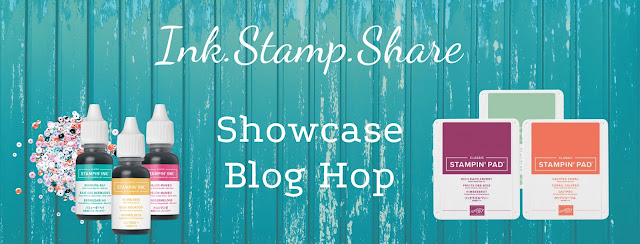 Craftyduckydoodah, Bloom Where You're Planted, Stampin' Up!, Ink Stamp Share Blog Hop,