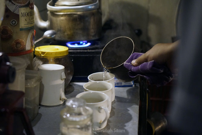 Proses pembuatan kopi cukup sederhana