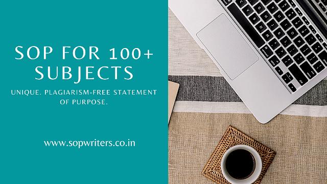 SoP Writing Services Bangalore