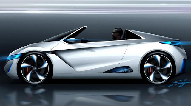 Mobil Listrik Sport EV Concept Honda