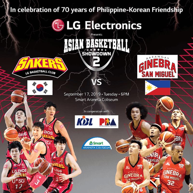 Korea's LG Sakers to face Barangay Ginebra for Asian Basketball Showdown II