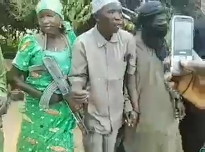 Boko Haram Commander Marries Daughter Of Fulani Herdsmen In Sambisa Forest – VIDEO