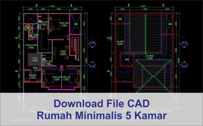Download Rumah Minimalis 5 Kamar