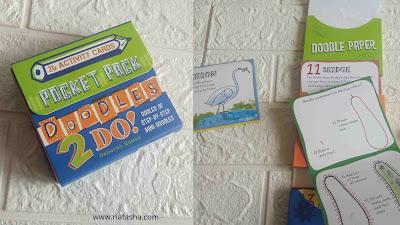 buku doodle 2 do ukuran pocket pack untuk belajar doodle