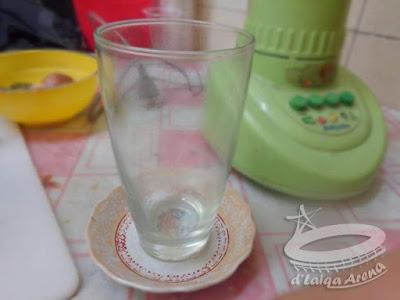 siapkan gelas