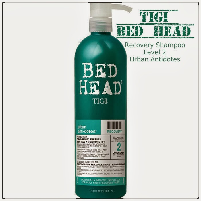 Review: Tigi Bed Head Recovery Shampoo Level 2 Urban Antidotes