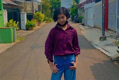 Asya Lianda pemeran Putri di Jagoan Bola