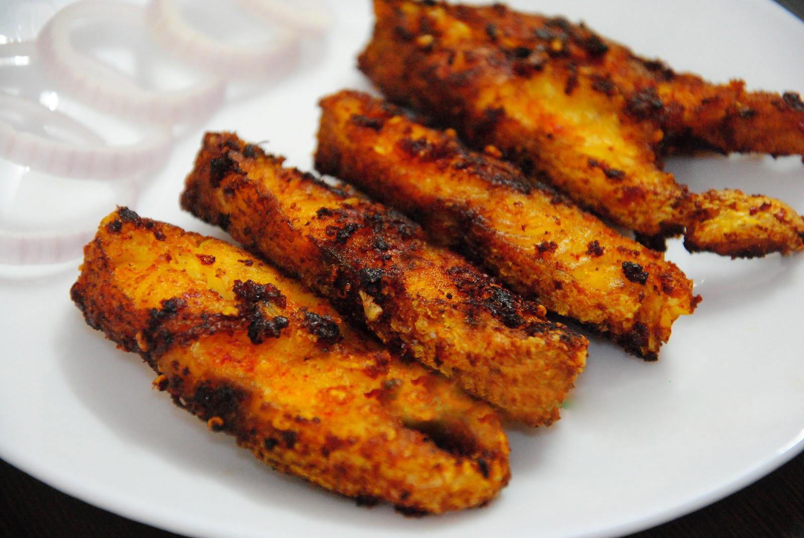Tawa fish steaks fishvish for King fish recipe