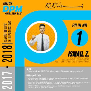 CALON KETUA DPM PNL 2017-2018