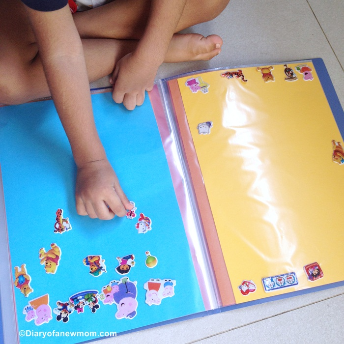 DIY Sticker Book