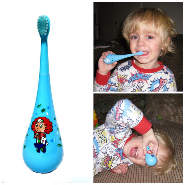 5d4a8c6e0d5 Riley has the Vet Valerie toothbrush and he absolutely loves it