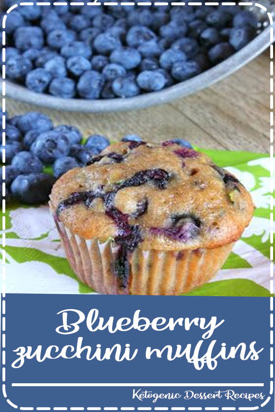 t overly sweet and they contain both a vegetable and a fruit Blueberry zucchini muffins