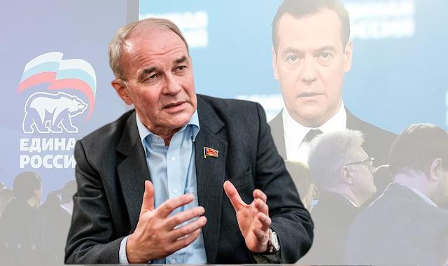 «Единая Россия» разваливается, по мнению советника председателя ЦК КПРФ В. Тетекина