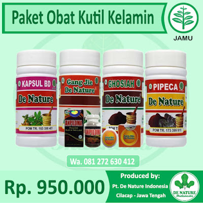 Obat Herbal Kutil Kelamin De Nature