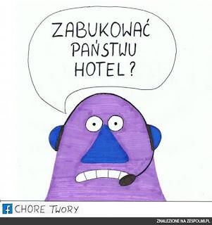 język angielski źródłem kalek językowych, tutaj zabukować jako polskie zarezerwować