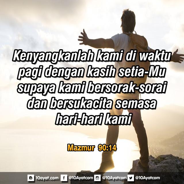 Mazmur 90:14