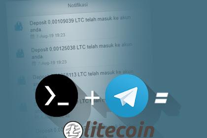 Cara Nuyul LTC Click Bot Telegram Di Termux