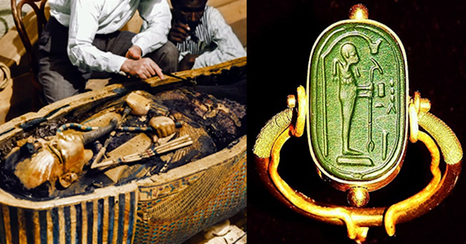Archaeologists Found an Ancient Alien Ring in the Tomb of Tutankhamun