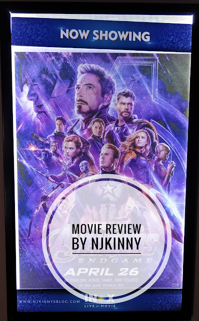#MovieReview Avengers: Endgame ~ An epic finale that lives up to expectations and then some!