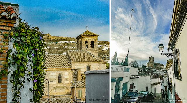 Igreja de San Gregorio Magno, bairro do Albaicín, Granada