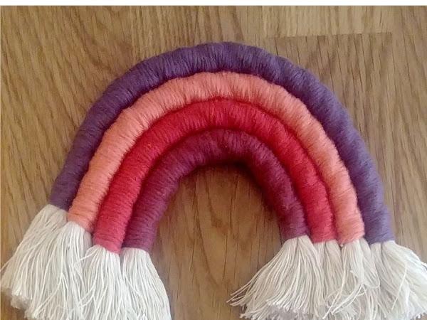 #Tuto : Un arc en ciel en laine