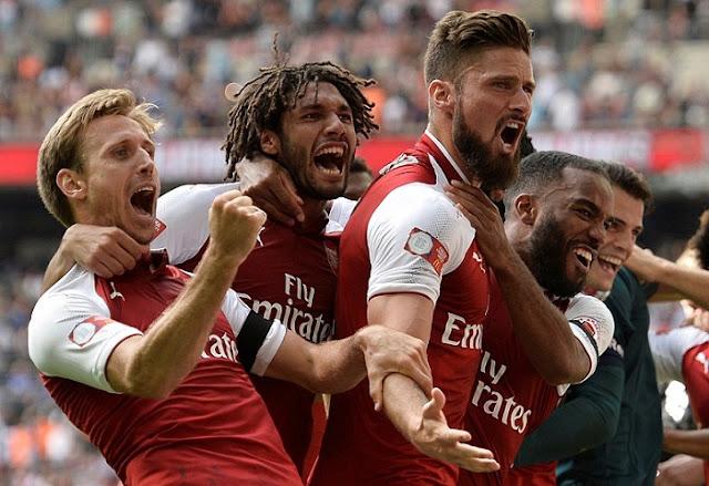 Arsenal đánh bại Chelsea giành Siêu Cúp nước Anh 1