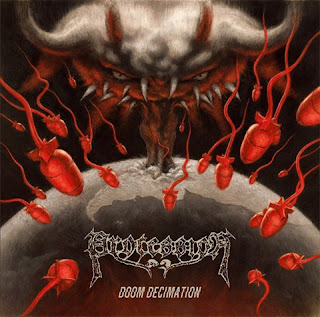 "Procession - ""Amidst The Bowels Of Earth"" (audio) from the album ""Doom Decimation"""